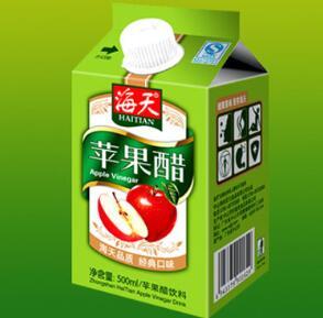 海天苹果醋涉嫌商标侵权和不正当竞争