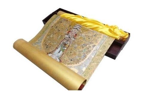 扬州大师创作漆画《千手观音》获国家专利