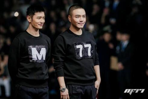黄晓明创业成立男装商标 坦言不为赚钱