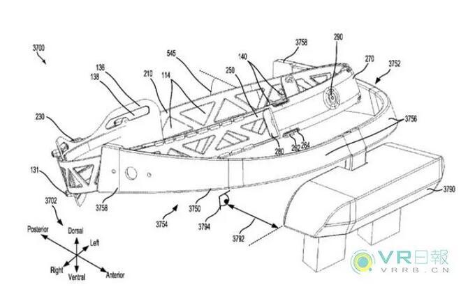 微软公布下一代HoloLens外观专利