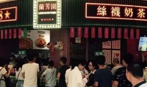 香港兰芳园再打假,扰了香飘飘?