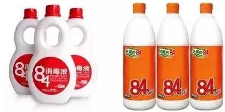 """84消毒液为什么叫84,""""84""""可以申请商标吗?"""