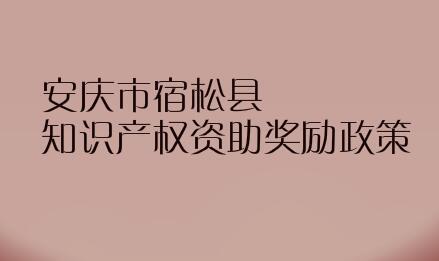 安庆市宿松县知识产权资助奖励政策,贯标奖励5万元!