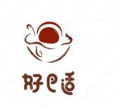 """""""好巴適""""logo設計,寓意發展紅火、事業興旺"""
