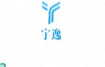 """""""宇逸""""logo 設計賞析,給人一種廣闊無邊的感覺"""
