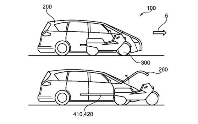 福特摩托汽车一体化专利 或将引领新趋势