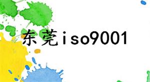 東莞iso9001